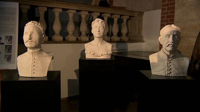 Rekonstrukcje twarzy ludzi spoczywających w kryptach
