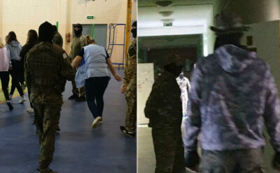 Symulowany atak terrorystów na szkołę. Strach i panika wśród uczniów