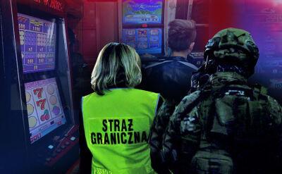 """Służby rozbiły nielegalne kasyna. Akcję uwieczniła kamera """"Faktów"""" TVN"""