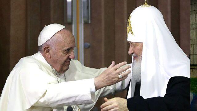 Papież Franciszek i patriarcha Cyryl na Kubie
