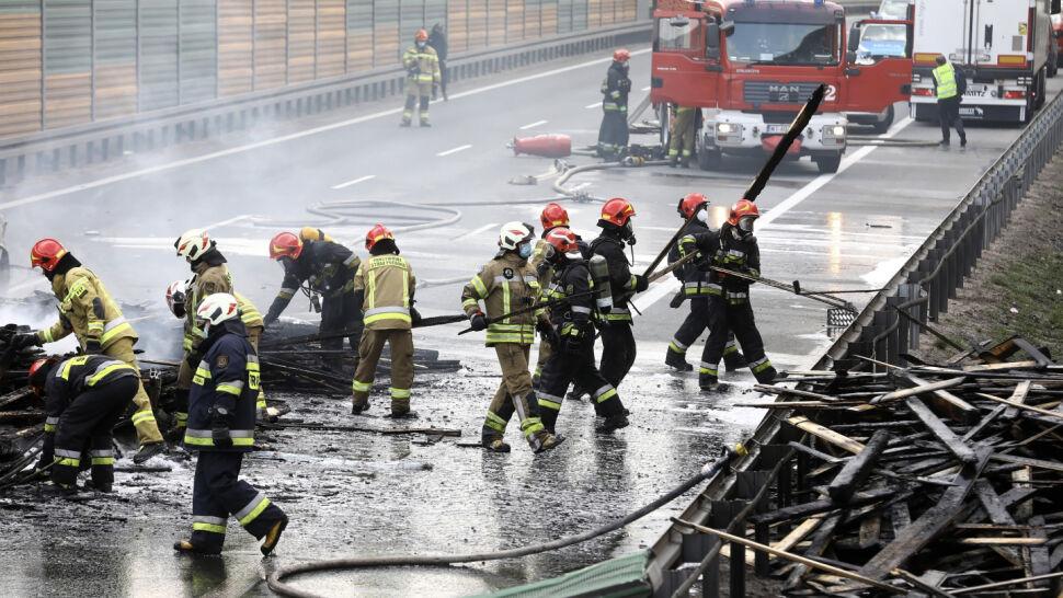 Tragiczny wypadek na S8. Jedna osoba nie żyje