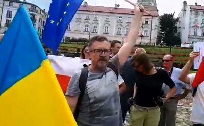"""Sprawa za okrzyk """"Precz z polskim faszyzmem"""" umorzona"""