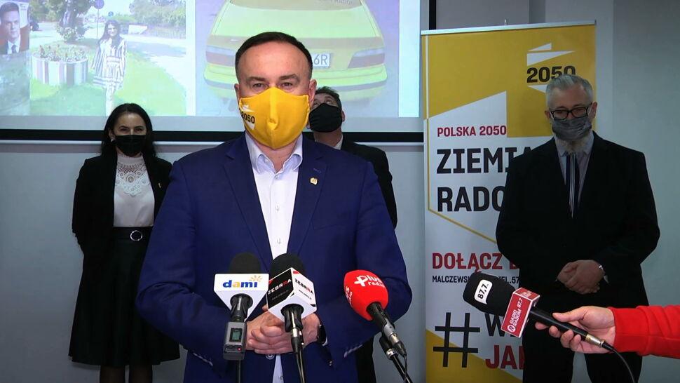 """""""Z tego, co wiem, w partii Polska 2050 Szymona Hołowni ma nie być Szymona Hołowni"""""""