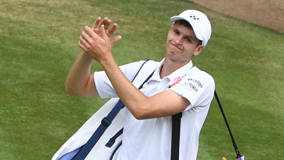 Hubert Hurkacz kończy pięknąprzygodę na Wimbledonie