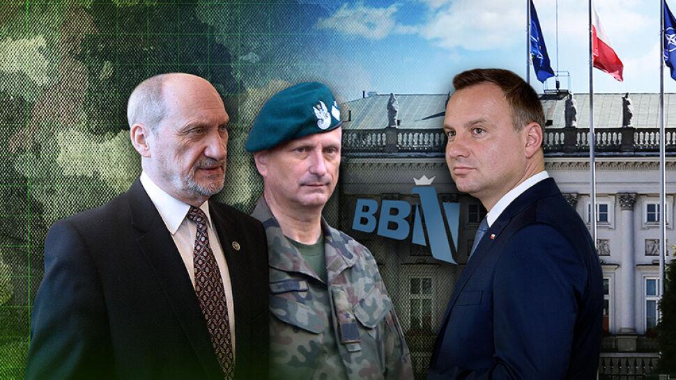 Awansował go Kaczyński, MON bada go wariografem. Kolejny generał ofiarą konfliktu na górze