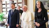 Para prezydencka w Watykanie. Rozmowa o przyszłości Europy