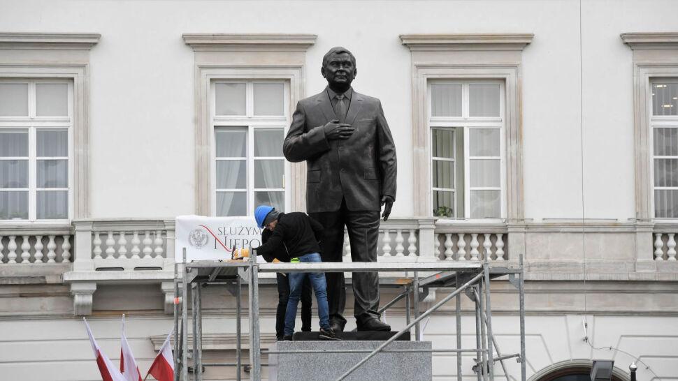 Kontrowersje wokół pomnika Lecha Kaczyńskiego