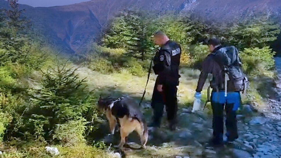 """Ludzkie szczątki i pozostałości obozowiska w Tatrach. """"Może to być osoba poszukiwana od co najmniej 10 lat"""""""