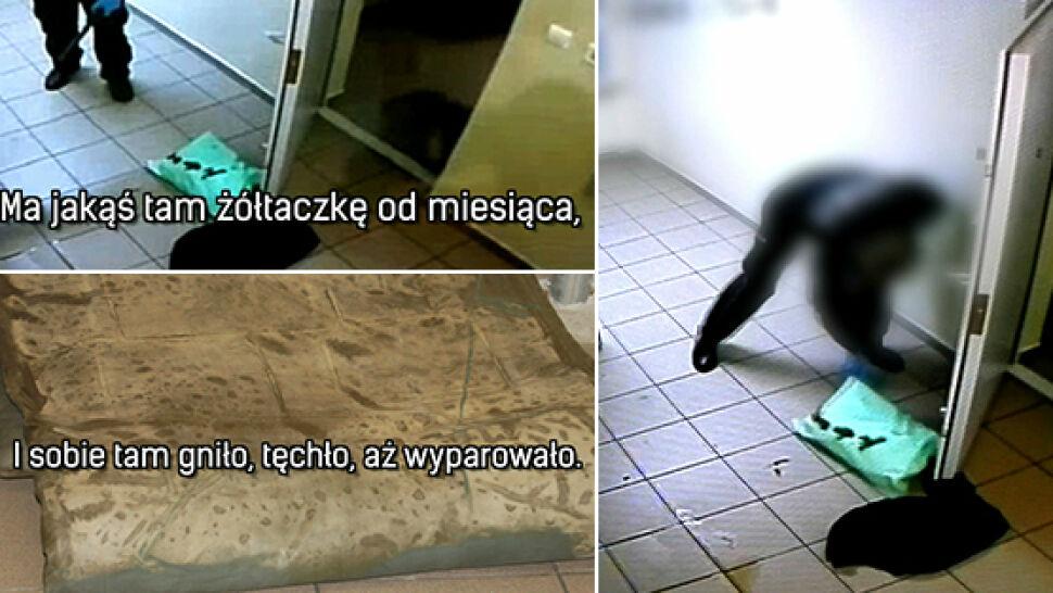 Brud i zgniłe materace. Koszmar komendy w Białymstoku
