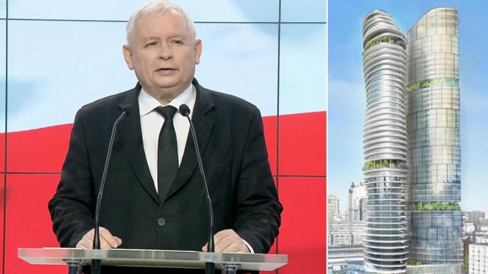 """""""Taśmy Kaczyńskiego"""". Rozmowa prezesa PiS o wieżowcu w stolicy"""
