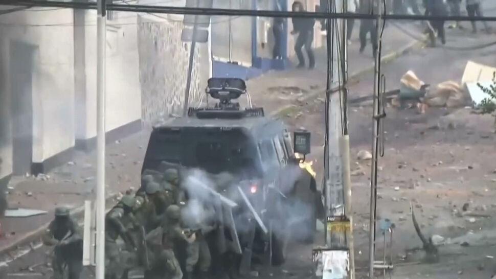 """Fala protestów w Ekwadorze. """"Włożyli swoje ręce do naszych kieszeni"""""""