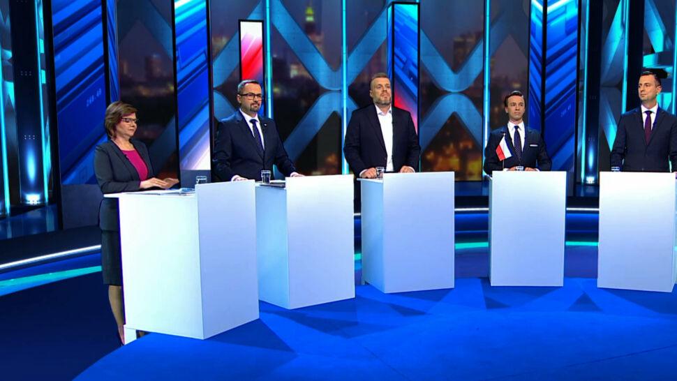 Starcie polityków w TVN24 obejrzało prawie dwa miliony widzów