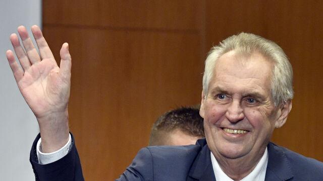 Zeman prezydentem Czech