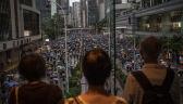 Protesty nie słabną. Mieszkańcy Hongkongu znów wyszli na ulice