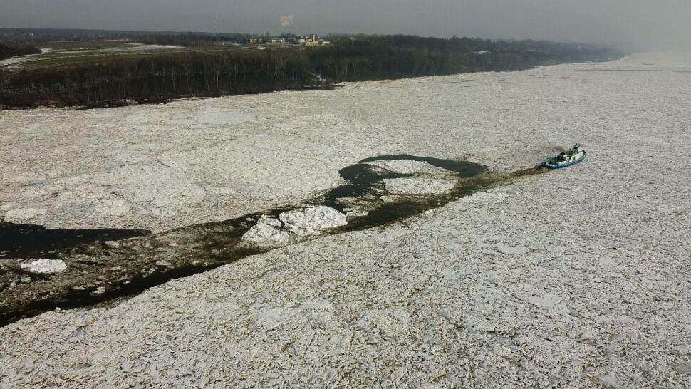 Poziom wody w Wiśle i Odrze powoli spada