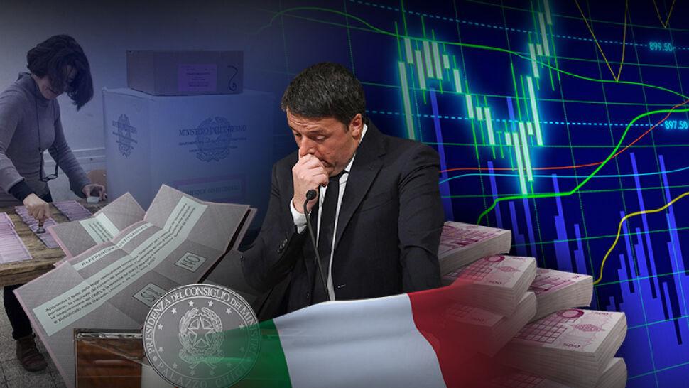 Renzi po przegranym referendum podał się do dymisji. Były komik wyprowadzi Włochy z UE?