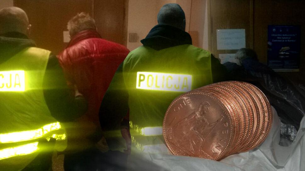 Sprzedawali zwykłe pensy za dziesiątki tysięcy złotych. Kilkadziesiąt osób dało się nabrać