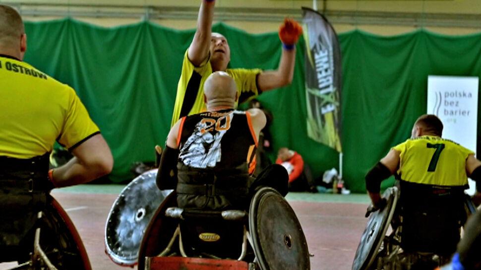 """""""Ty widzisz tylko wózek"""". Ruszyła kampania społeczna Polskiej Ligi Rugby"""