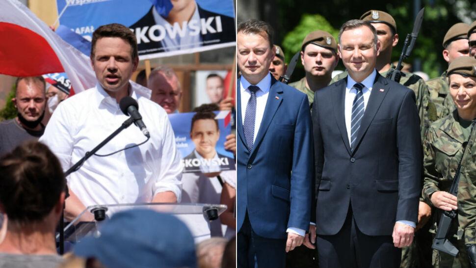Trzaskowski i Duda idą łeb w łeb w sondażach. O wygranej może zdecydować jedno potknięcie