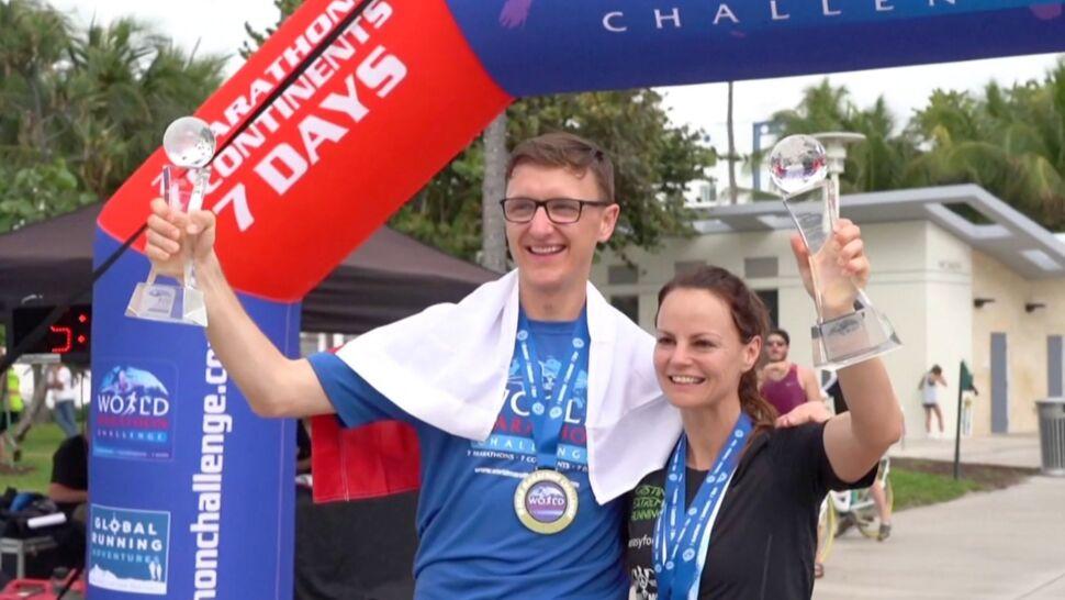 7 dni, 7 kontynentów, 7 maratonów. Miłosz Pasiecznik dokonał czegoś niesamowitego