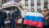 07.04.2014   Niespokojnie na wschodzie Ukrainy – separatyści proklamują Doniecką Republikę Ludową