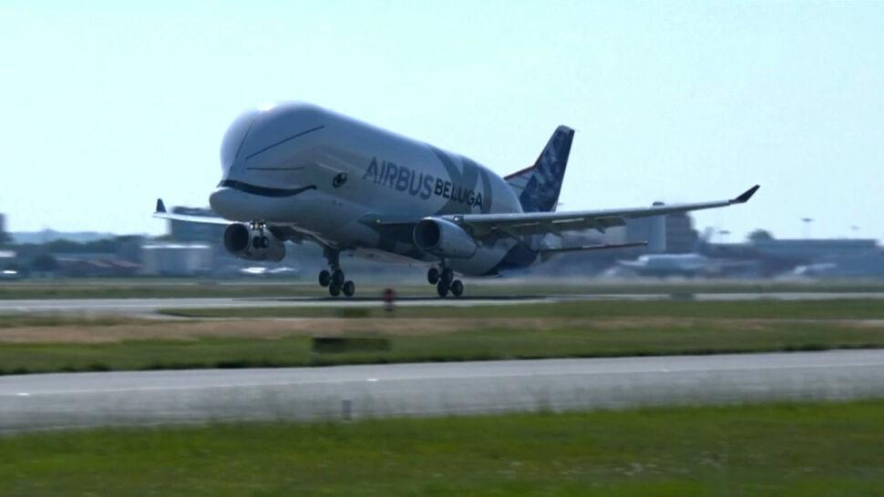 Airbus Beluga XL wykonał pierwszy lot testowy