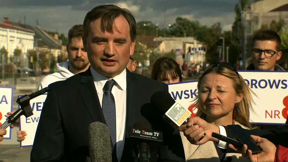 """""""Zwracam się do pana o odwołanie pana Zbigniewa Ziobry"""""""