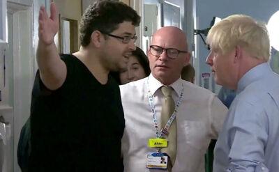 """Niełatwe spotkanie Borisa Johnsona. """"Służba zdrowia jest zniszczona"""""""