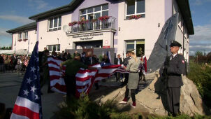 Monument to fallen U.S. airmen helping Warsaw Uprising unveiled in Nasielsk