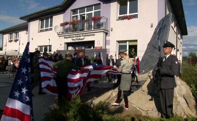 """Amerykańscy piloci uhonorowani pomnikiem. """"Polacy nigdy nie zapominają o swoich bohaterach"""""""