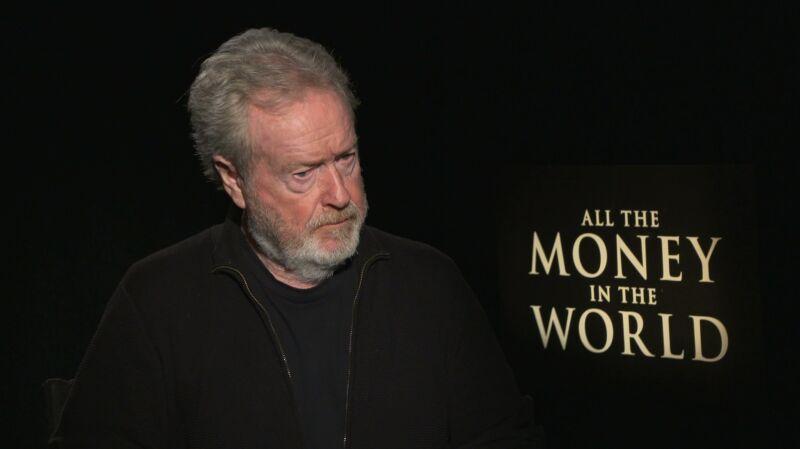 """""""Wszystkie pieniądze świata"""" bez Kevina Spacey'ego. Ridley Scott: nie mogłem tego tak zostawić"""