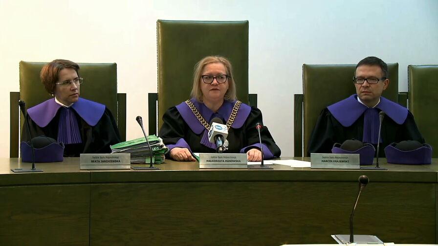 Pierwsze decyzje sędziów po uchwale SN