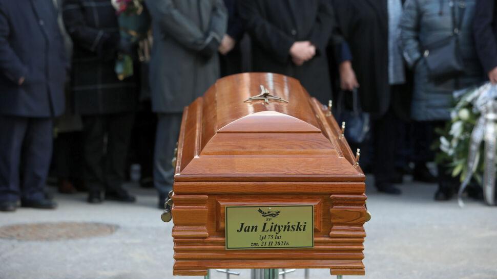 """Jan Lityński pochowany. """"Tato, będzie mi cię brakowało"""""""