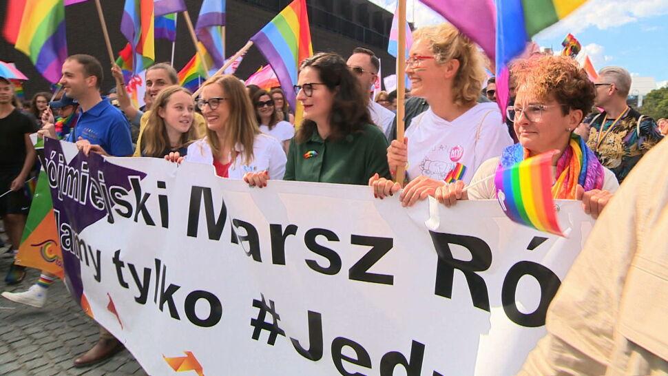 Marsze równości przeszły ulicami Gdańska i Częstochowy. W Gdańsku maszerowała też Aleksandra Dulkiewicz