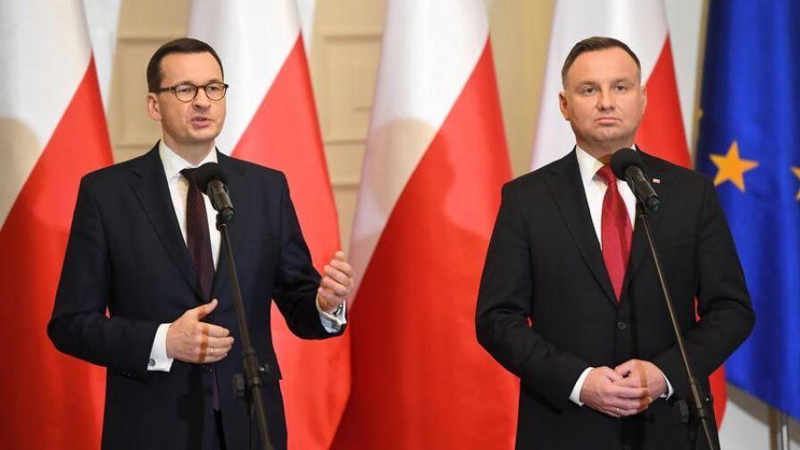 """Czy prezydent i premier powinni pochodzić z tego samego obozu politycznego? Sondaż dla """"Faktów"""" TVN i TVN24"""