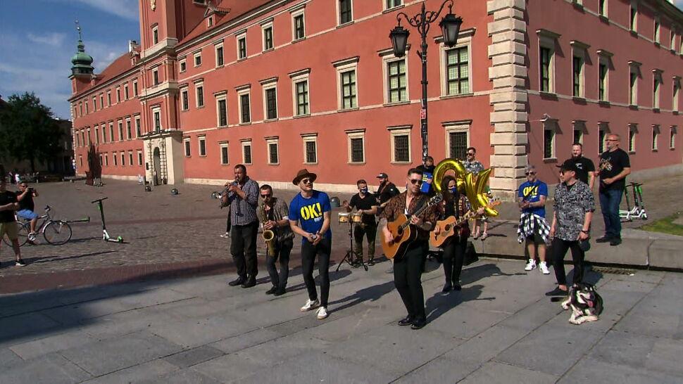 Artyści chcą móc grać na koncertach. Zorganizowali happening w Warszawie