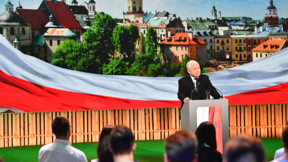Kampania zbliża się do finiszu. Jarosław Kaczyński przemawiał do młodych w Lublinie