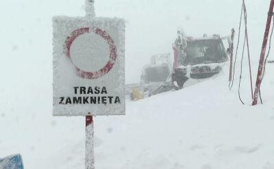 Niebezpiecznie w Tatrach. Czwarty stopień zagrożenia lawinowego