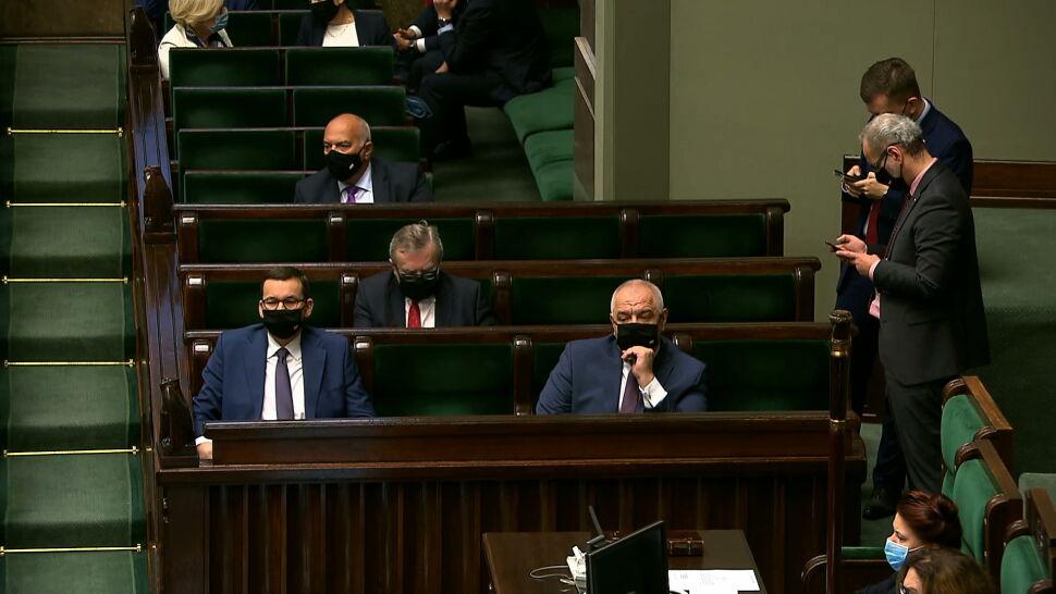 """W Sejmie o epidemii COVID-19. """"Prawda jest taka, że doszliśmy do ściany"""""""