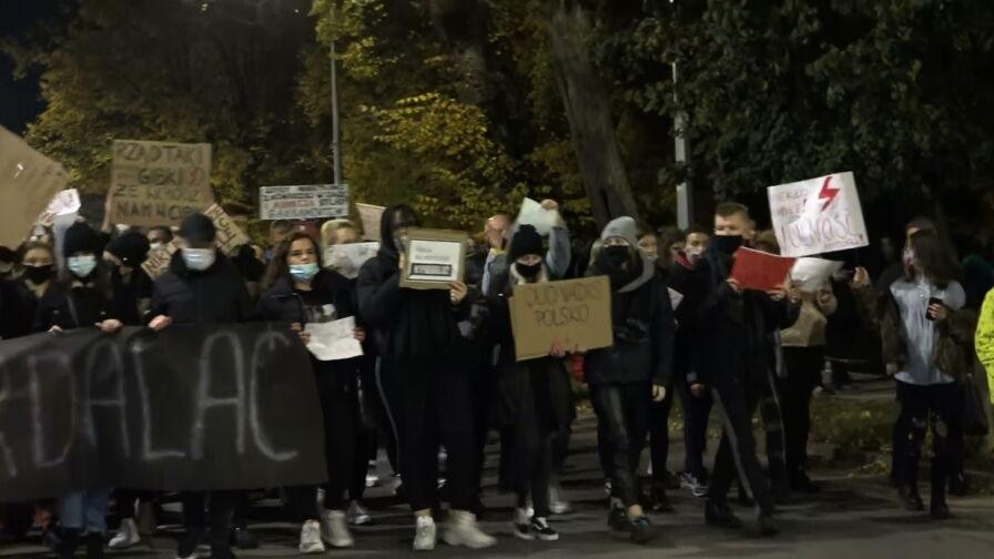 Protesty w Polsce nie ustają