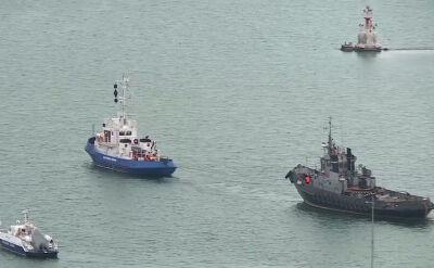Rosja zwróciła Ukrainie okręty, które zostały zatrzymane w Cieśninie Kerczeńskiej