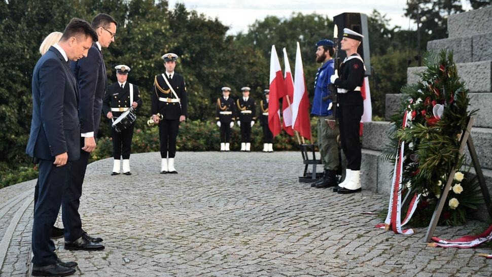 79. rocznica wybuchu II wojny światowej. Prezydent w Tczewie, premier na Westerplatte