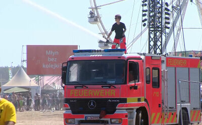 Niemiecka pomoc na Pol'and'Rock Festival. Owsiak: bo komendant odmówił