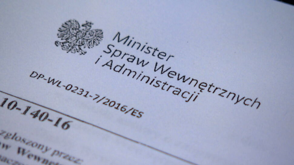 MSWiA przywraca świadczenia 22 osobom objętym ustawą dezubekizacyjną