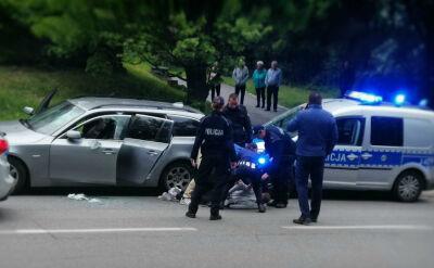 Kierowcy bez prawa jazdy i policyjne pościgi. Doszło do kolizji z radiowozem