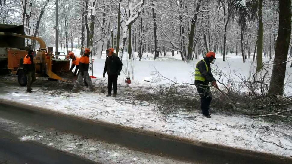Atak zimy na Podlasiu