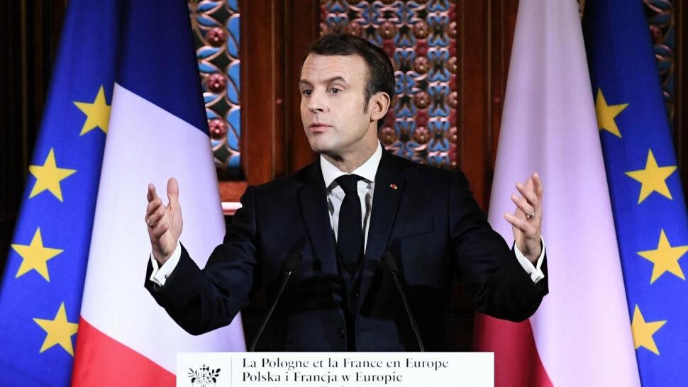 Słowa o Europie i burza oklasków. Prezydent Francji na Uniwersytecie Jagiellońskim