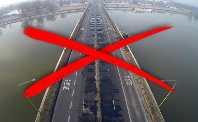 20.02 | Prace przy przebudowie mostu Łazienkowskiego potrwają kilkanaście miesięcy