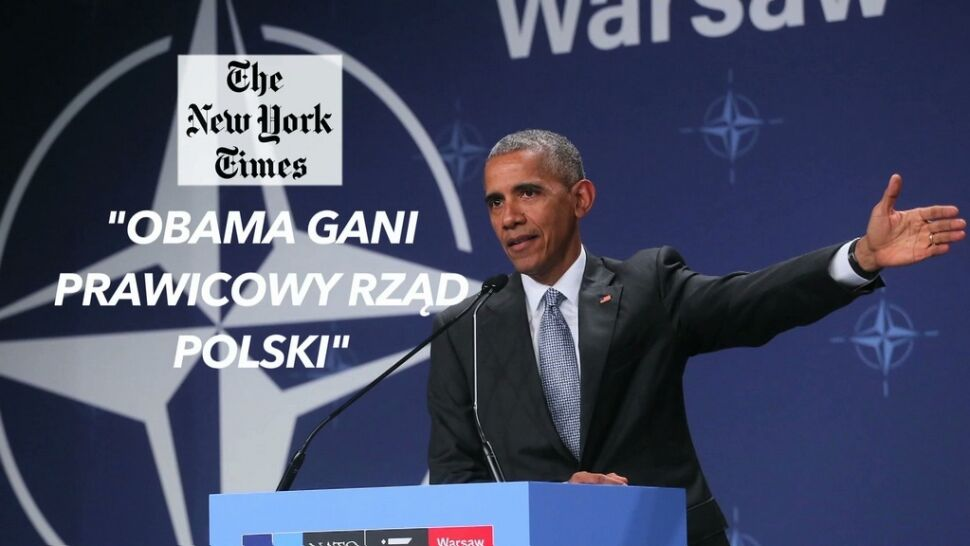 """Zagraniczne media o słowach prezydenta USA o Polsce. """"Obama potrząsnął polską demokracją"""""""
