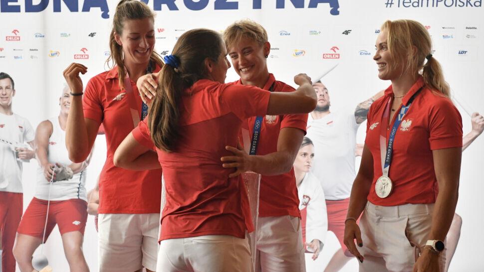 Srebrne wioślarki z igrzysk w Tokio wróciły do Polski